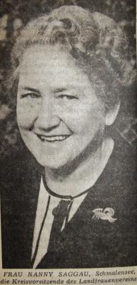 Foto zur Meldung: Vor 100 Jahren: Vorgänger des Landfrauenvereins – der landwirtschaftliche Hausfrauenverein