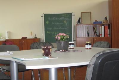 Foto zu Meldung: Neues Lehrerzimmer