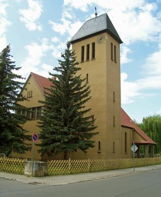 Vorschaubild zur Meldung: 60 Jahre Kirche St. Nicolai im OT Nachterstedt
