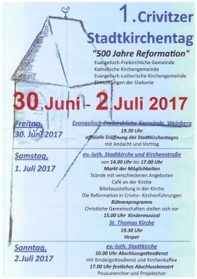Foto zur Meldung: Stadtkirchentag Crivitz 2017 - Wir waren dabei!
