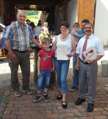 Ehrenamtlerin Monika Mootz erhält Auszeichnung
