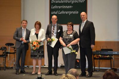 Vorschaubild zur Meldung: Brandenburgischer Lehrerpreis - Lehrkraft des OSZ LDS nominiert