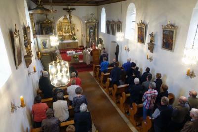 Foto zur Meldung: Patrozinium St. Peter und Paul in der Filialkirche gefeiert