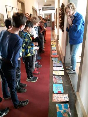 Foto zur Meldung: 4. Klasse - Klee Ausstellung Lindau