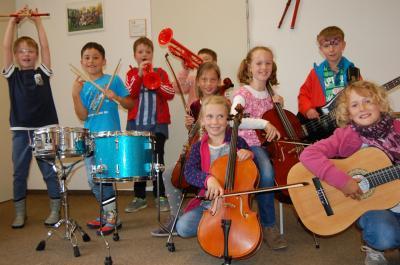 Foto zu Meldung: IKARUS-Kinder im Konzert