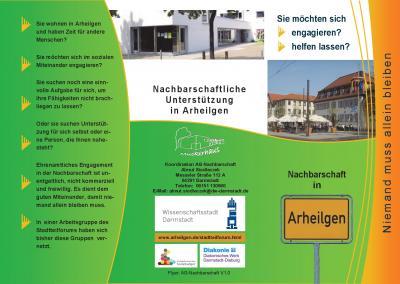 Foto zur Meldung: Übersicht der AG Nachbarschaft im Arheilger Stadtteilforum