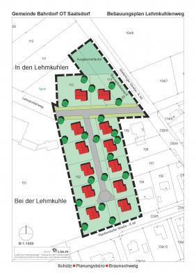 Vorschaubild zur Meldung: Künftiges Baugebiet in Saalsdorf