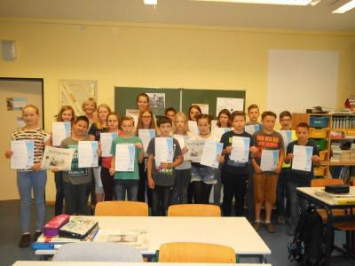 Foto zur Meldung: Zisch-Zeitung in der Schule