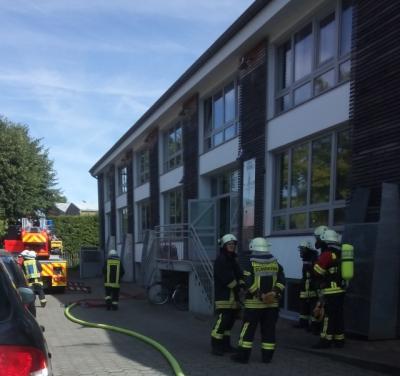 Unspektakulär: Die Feuerwehr hat alles im Griff!
