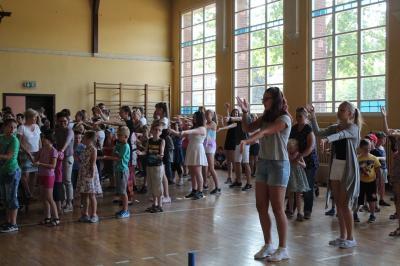 Foto zur Meldung: Wir, die Klasse 9c, gemeinsam mit der Havelschule