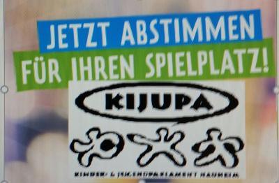 Vorschaubild zur Meldung: KiJuPa Spielplatz - JETZT ABSTIMMEN!
