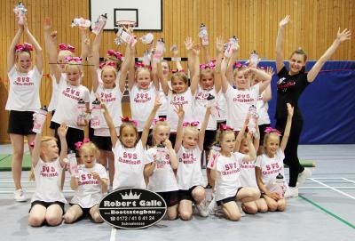 Foto zur Meldung: Cheerleading im SV Schmalensee – Probetrainings verabreden