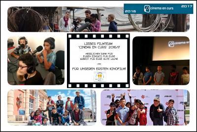 Foto zur Meldung: Cinema en curs Filmteam