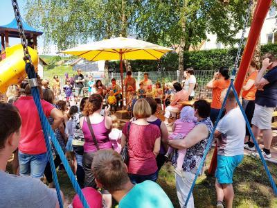 Foto zu Meldung: Großes Kinderfest mit Einweihung der neuen Spielgeräte