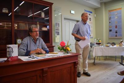 Foto zur Meldung: Spannende Lesung zum Abschluss der Fallada-Ausstellung