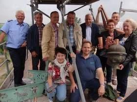 Vorschaubild zur Meldung: Kirche bekommt Turmzier zurück