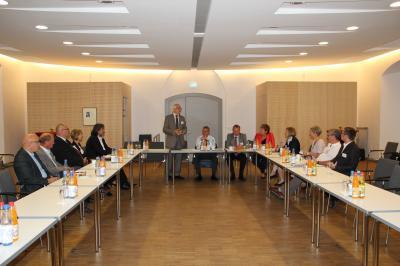 Vorschaubild zur Meldung: Wirtschaftsminister besucht Fürstenwalde
