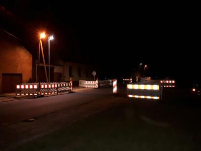 Straßenlampe Hohenahlsdorf 11.08.2017