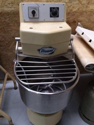 Vorschaubild zur Meldung: Diosna-Spiralkneter SP 24D für 24 kg Teig