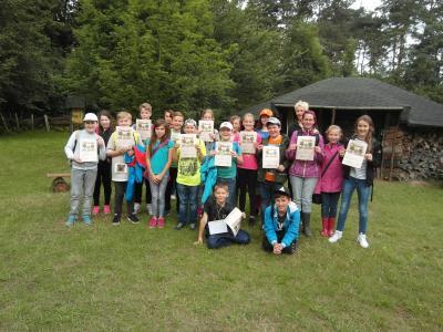 Foto zur Meldung: Waldjugendspiele