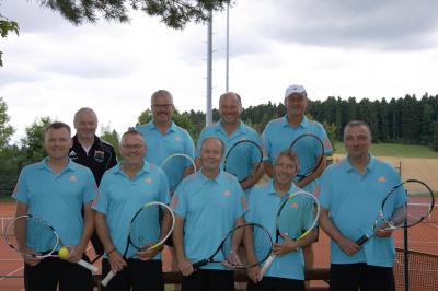 Foto zur Meldung: Tennis Herren 50 - Souveräner Titelgewinn in der Bezirksklasse 1
