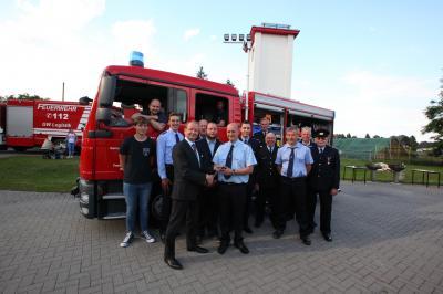 Vorschaubild zur Meldung: Neues Feuerwehrfahrzeug für Münchehofe