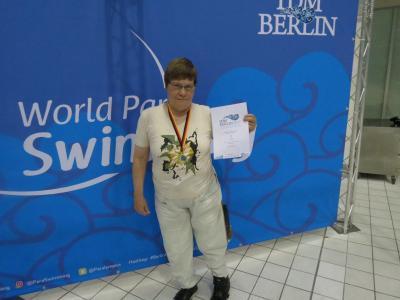 Foto zur Meldung: Hannelore Kükemück erfolgreich bei der Internationalen Deutschen Meisterschaft