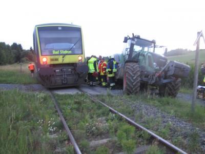Vorschaubild zur Meldung: Unfall mit Zug
