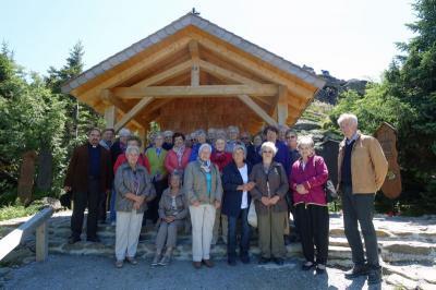 """Foto zur Meldung: Senioren auf dem """"König des Bayerwaldes"""""""