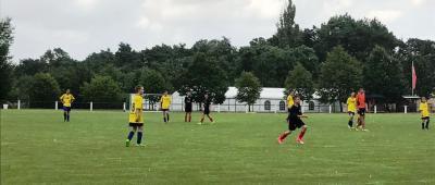Foto zur Meldung: Fußball: C Junioren mit erstem Erfolg
