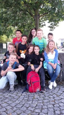 Foto zur Meldung: Geschichtsfahrt der Klasse 5