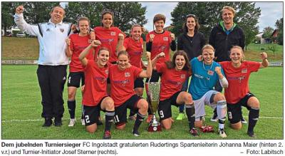 """Vorschaubild zur Meldung: Regionalligist Ingolstadt erobert """"soccergirl-Cup"""""""