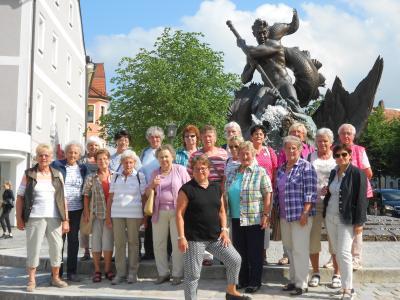 Foto zur Meldung: Turnerfrauen genießen die Oberpfalz