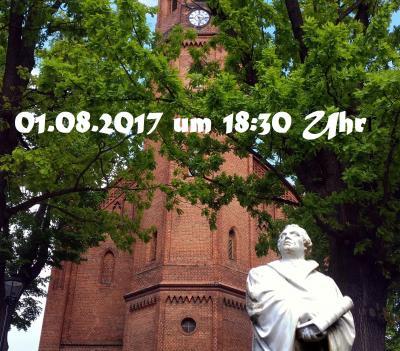 Foto zur Meldung: Luthers Predigt in Niemegk - Ein Vortrag von Dr. Roland M. Lehmann (Universität Jena)