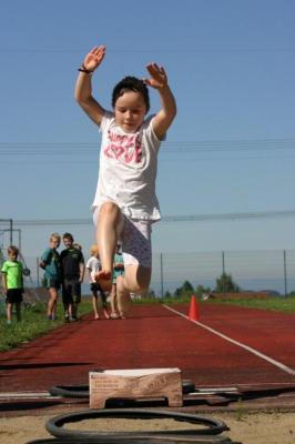 Foto zur Meldung: Vielseitigkeitswettbewerb und Sponsorenlauf