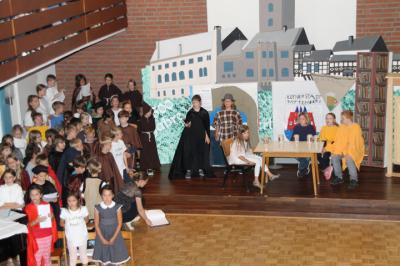 Foto zur Meldung: Luther macht Schule - Ein Musical über das Leben Martin Luthers
