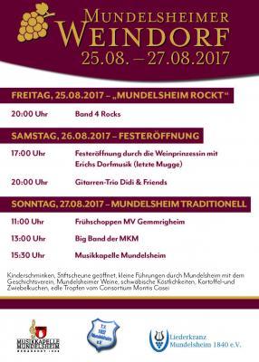 Vorschaubild zur Meldung: Weindorf 2017