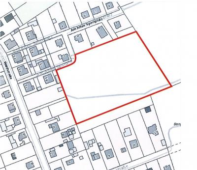 """Vorschaubild zur Meldung: Verkauf Baugrundstück """"Alter Sportplatz"""""""