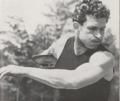 Walter Meier in seiner aktiven Zeit als Sportler
