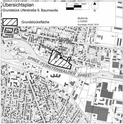 Vorschaubild zur Meldung: Grundstück Uferstraße: Verkehrszählung nach den Sommerferien geplant