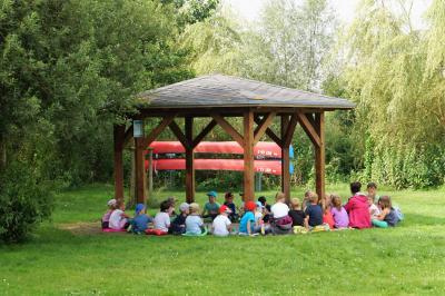 """Foto zur Meldung: Kinder von der Evangelischen Kindertagesstätte """"Bunte Arche"""""""
