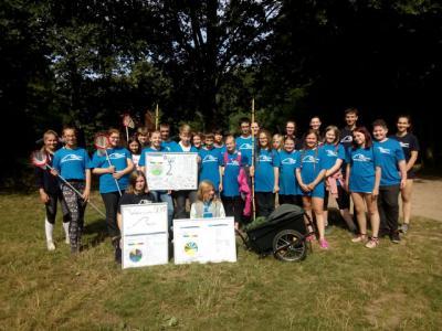 Gruppenbild der Wassercamper 2017