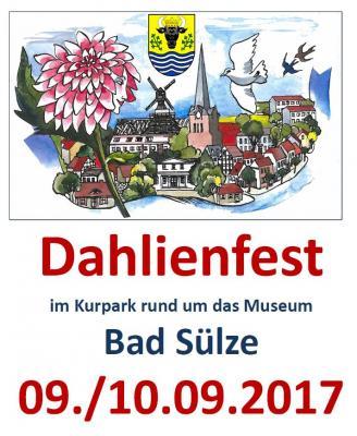 Vorschaubild zur Meldung: Dahlienfest Bad Sülze - Händler und Aussteller gesucht