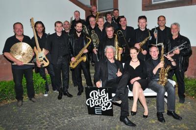 Vorschaubild zur Meldung: Live im Hof: Big Band 82 am 20.08.2017