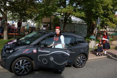 Vorschaubild zur Meldung: Erstes E-Car Sharing-Fahrzeug der Touristikregion