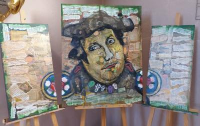 Vorschaubild zur Meldung: Lutherbilder in der Petruskirche ...