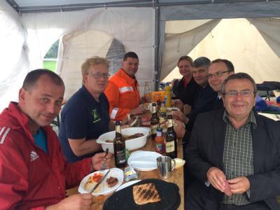 Foto zur Meldung: Zeltlager der Jugendwehren des Amtes Ludwigslust Land