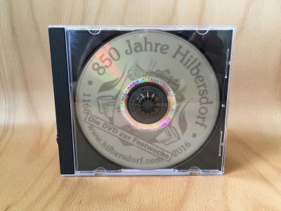 """Vorschaubild zur Meldung: Neue DVD zur Festwoche """"850 Jahre Hilbersdorf"""""""