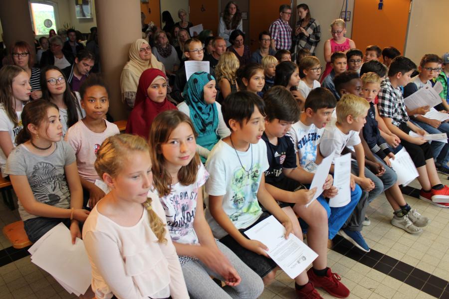 Grundschule Bitburg Sud Abschlussfeier 2017