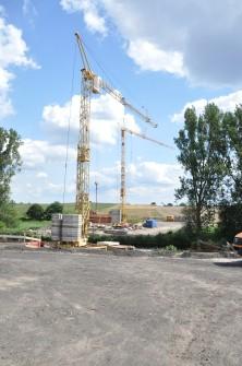 Vorschaubild zur Meldung: Brückenbau schreitet voran